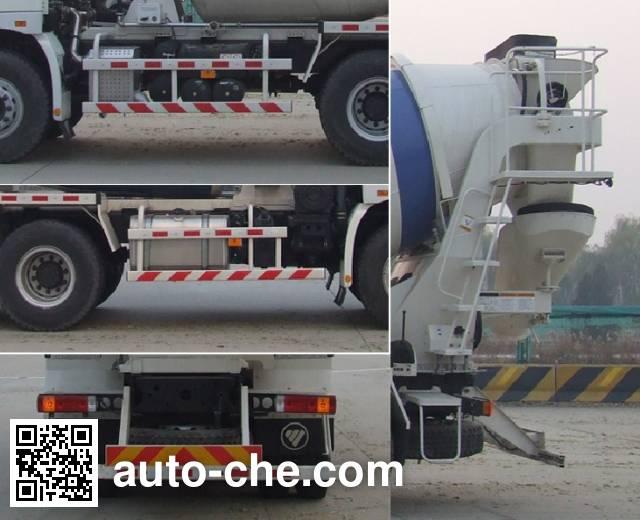 欧曼牌BJ5259GJB-XD混凝土搅拌运输车