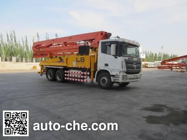 Foton BJ5279THB concrete pump truck
