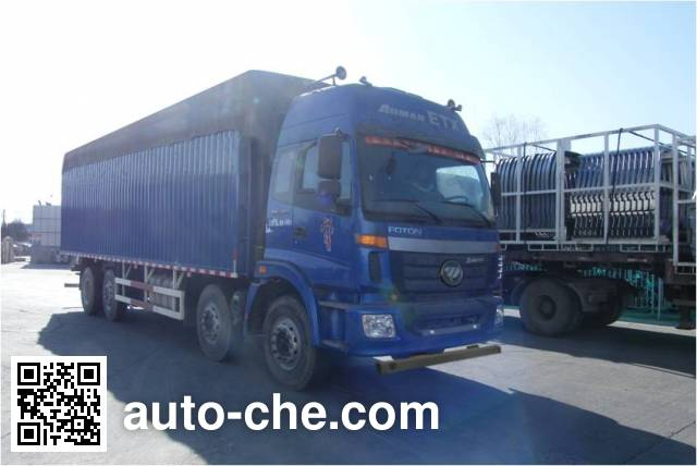 Foton Auman BJ5302CPY-2 soft top box van truck