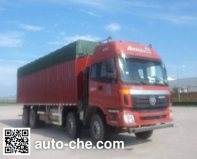 Foton Auman BJ5303CPY-1 soft top box van truck