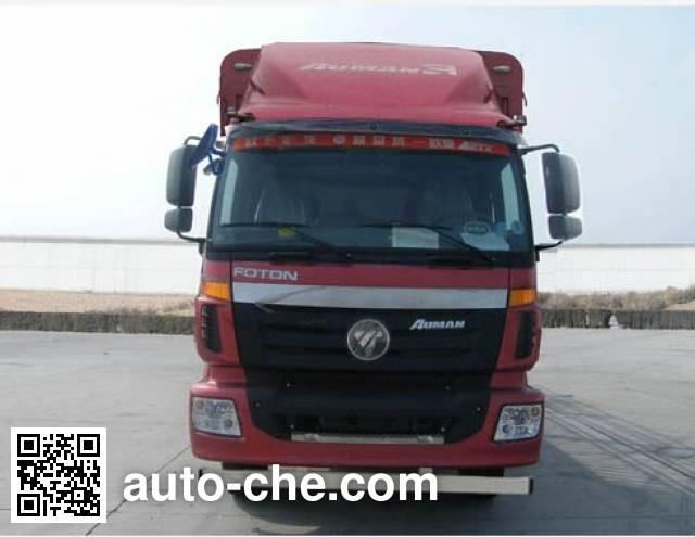 欧曼牌BJ5312CCQ-XB畜禽运输车