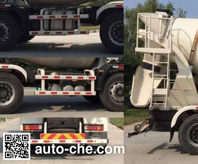 欧曼牌BJ5312GJB-AA混凝土搅拌运输车