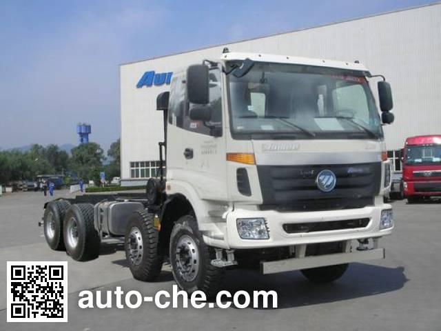 Foton Auman BJ5312GJB-AA concrete mixer truck chassis