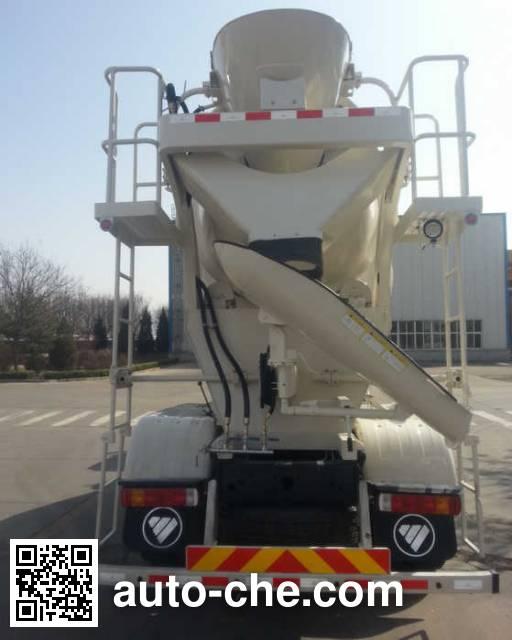 欧曼牌BJ5312GJB-XB混凝土搅拌运输车