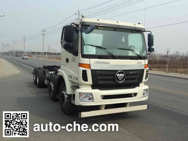 Foton Auman BJ5312GJB-XB concrete mixer truck chassis