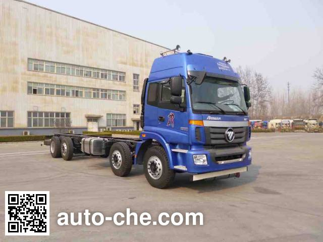 Foton Auman BJ5312GYY-AA oil tank truck chassis