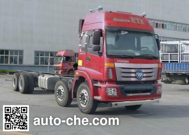 Foton Auman BJ5312GYY-XB oil tank truck chassis