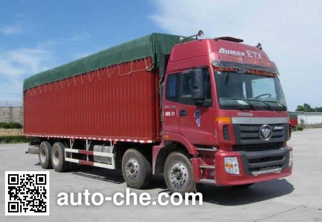 Foton Auman BJ5313CPY-2 soft top box van truck
