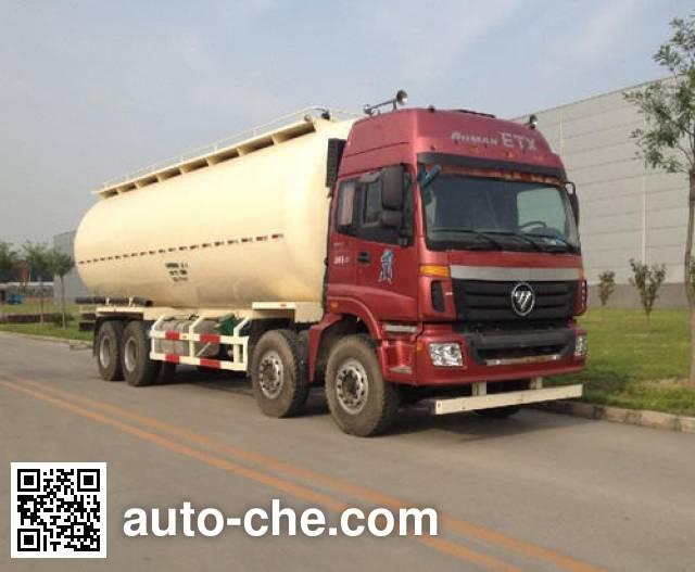 Foton Auman BJ5313GFL-XB low-density bulk powder transport tank truck