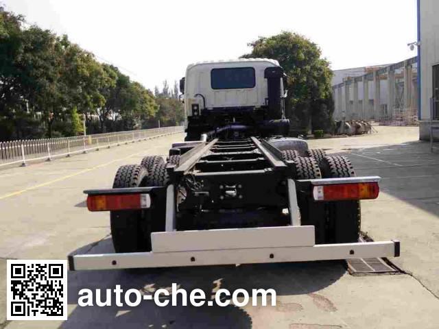 Foton Auman BJ5313GJB-AB concrete mixer truck chassis