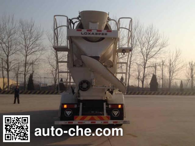 欧曼牌BJ5313GJB-XG混凝土搅拌运输车