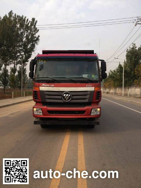 Foton Auman BJ5313GYY-AB oil tank truck chassis