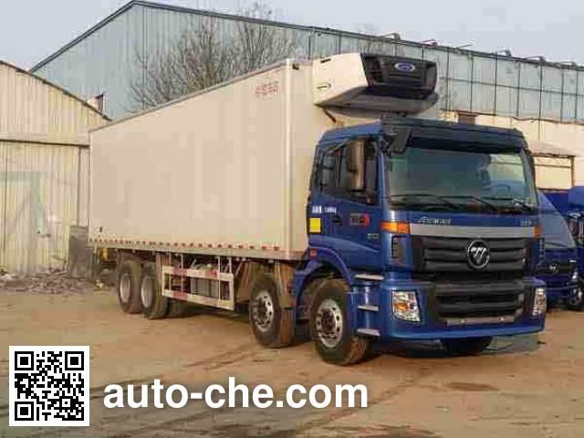 Foton Auman BJ5313XLC-AA refrigerated truck