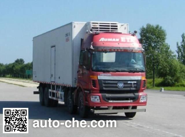 Foton Auman BJ5313XLC-XA refrigerated truck