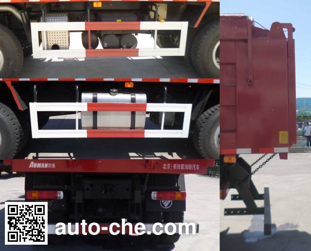 Foton Auman BJ5313ZLJ-AH dump garbage truck