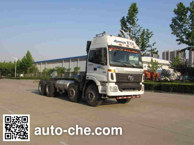 Foton Auman BJ5317GJB-XA concrete mixer truck chassis