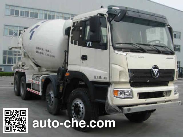 欧曼牌BJ5318GJB-XA混凝土搅拌运输车