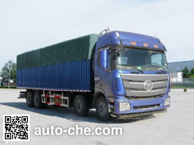 Foton Auman BJ5319CPY-2 soft top box van truck