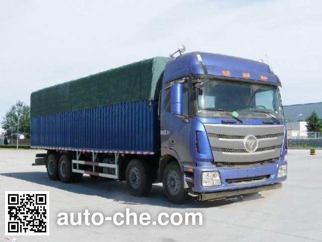 Foton Auman BJ5319CPY-XA soft top box van truck