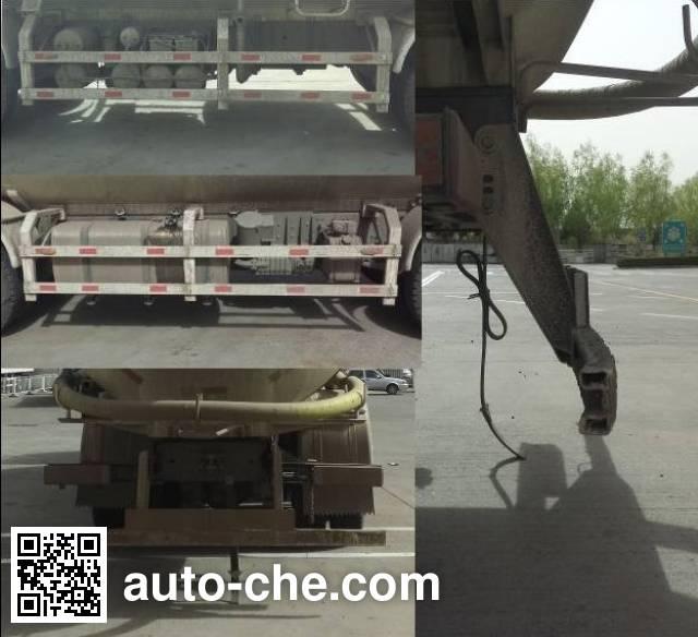 Foton Auman BJ5319GFL-AA low-density bulk powder transport tank truck
