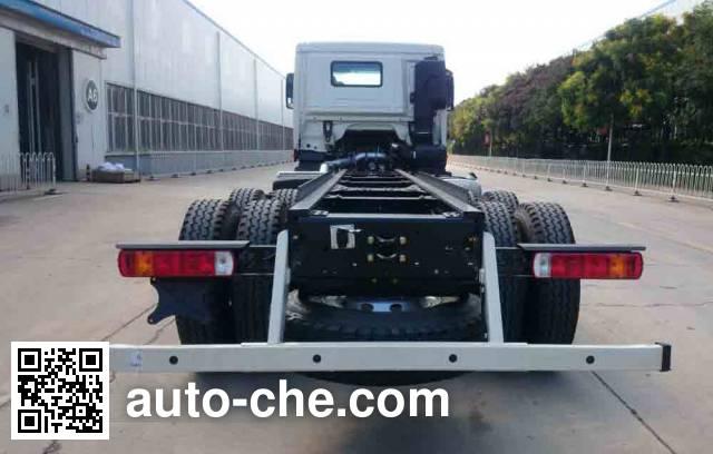Foton Auman BJ5319GJB-AB concrete mixer truck chassis