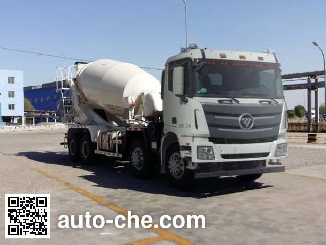 欧曼牌BJ5319GJB-XB混凝土搅拌运输车