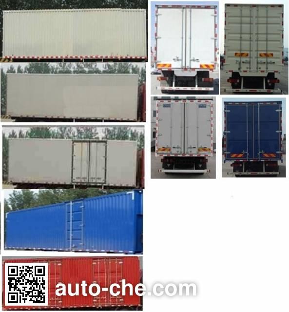 Foton Auman BJ5319XXY-AB box van truck