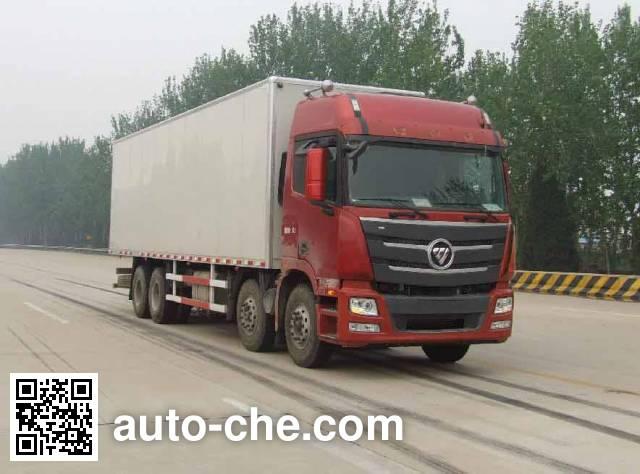 Foton Auman BJ5319XXY-XK box van truck