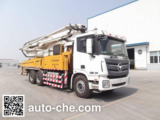 Foton BJ5339THB-1 concrete pump truck