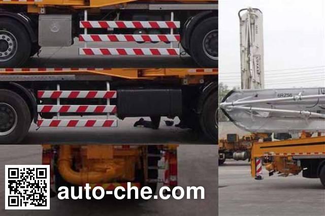Foton BJ5432THB concrete pump truck