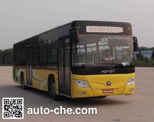 福田牌BJ6123CHEVCA-2混合动力城市客车