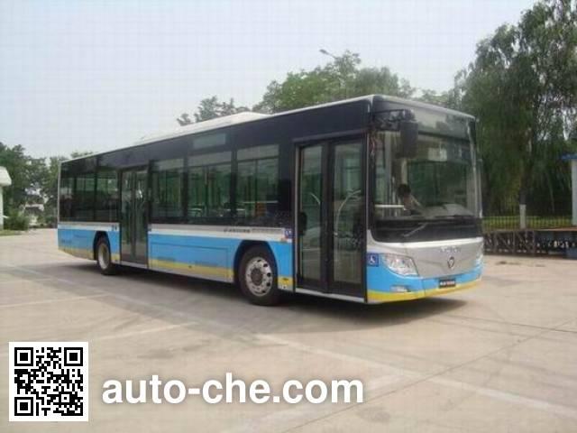 福田牌BJ6123CHEVCG混合动力城市客车