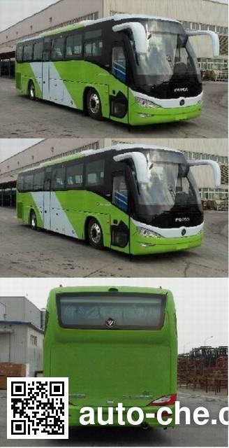 福田牌BJ6127PHEVCA-1混合动力城市客车