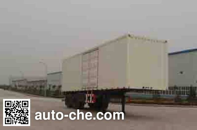 Foton BJ9230N7X7H box body van trailer