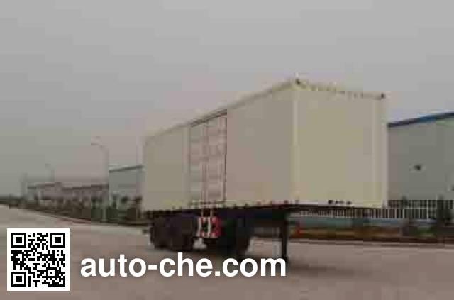 Foton Auman BJ9230N7X7H box body van trailer