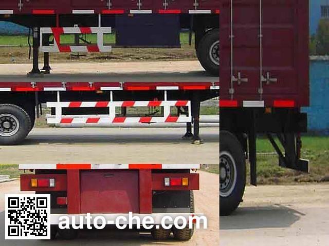 Foton BJ9300N8X7J box body van trailer