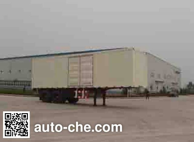 Foton Auman BJ9320N9X7K box body van trailer