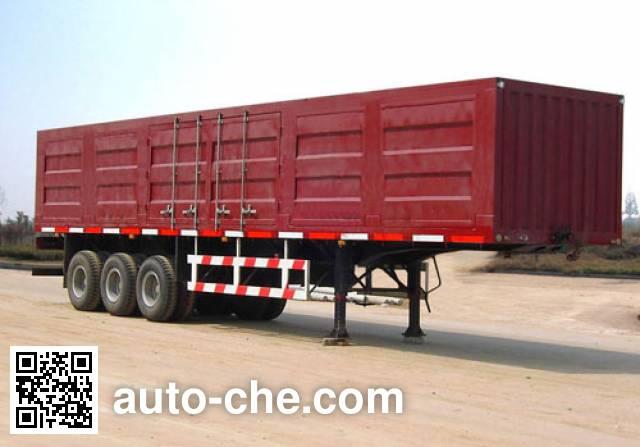 Foton Auman BJ9390NCX7C box body van trailer