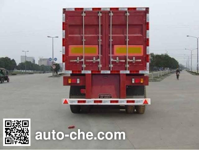 Foton BJ9390NCX7C box body van trailer