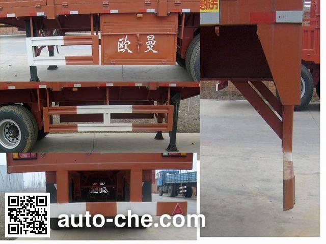 Foton BJ9403NCT7C stake trailer