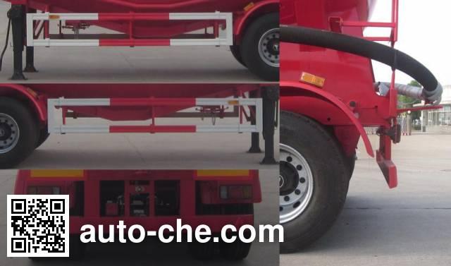 Foton BJ9408GFL low-density bulk powder transport trailer