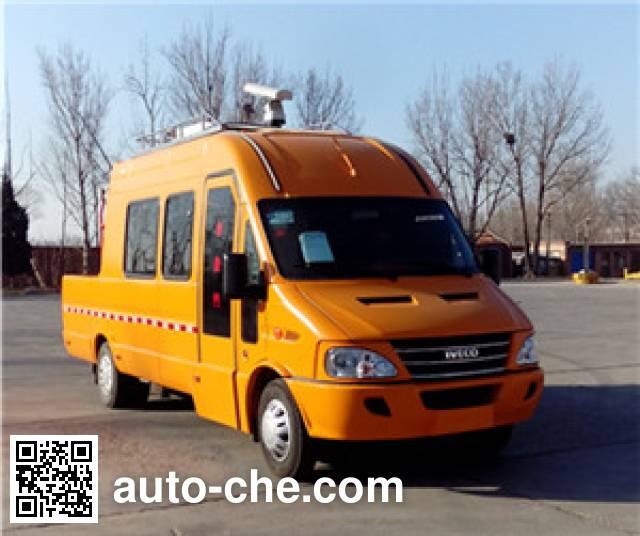 安龙牌BJK5050XJE无线电监测车