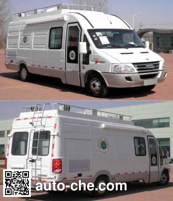 Huanda BJQ5050XJE monitoring vehicle