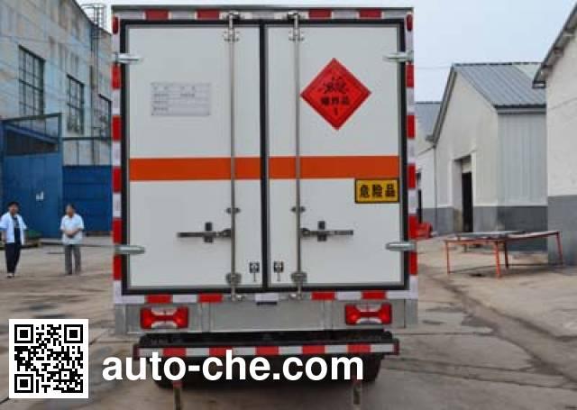 Huanda BJQ5070XQY explosives transport truck