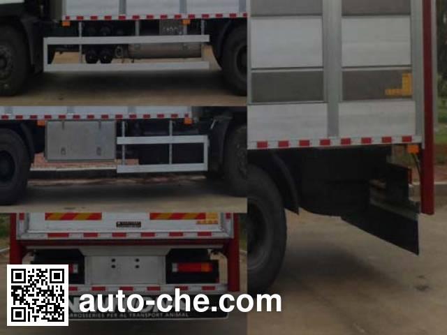 环达牌BJQ5250CCQ畜禽运输车