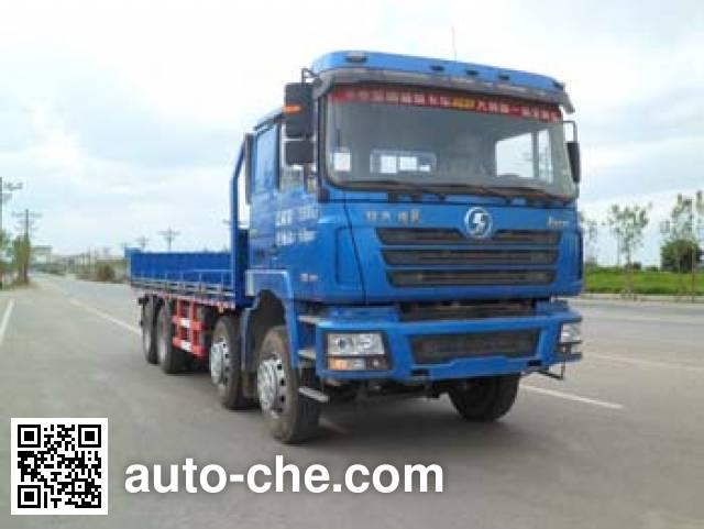 Huanda BJQ5311TPB flatbed truck