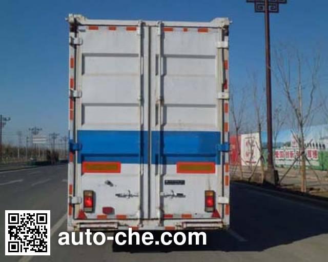 Huanda BJQ9204TCL vehicle transport trailer