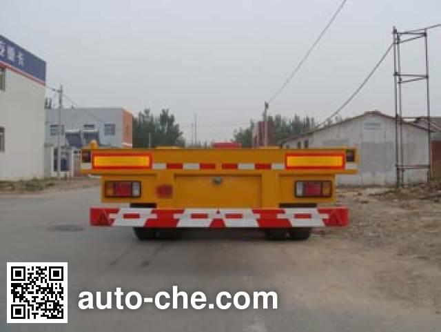 Huanda BJQ9370TJZ container transport trailer