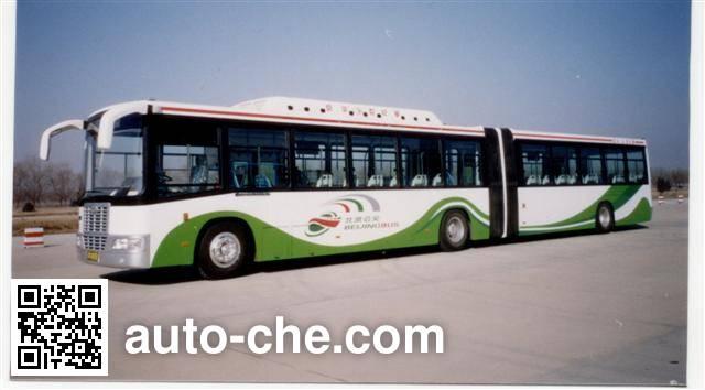 京华牌BK6180CNGA铰接式城市客车