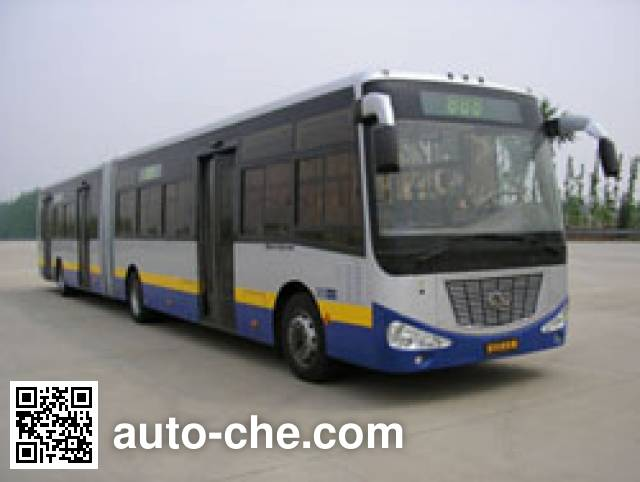 京华牌BK6180D2铰接式城市客车